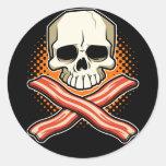 Skulls & Bacon Stickers
