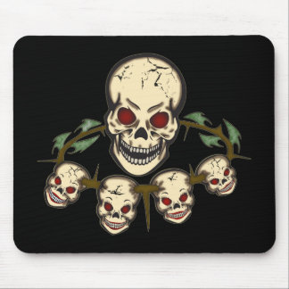 Skulls Day of the Dead Mouse Pad