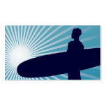 sky high surfing pack of standard business cards
