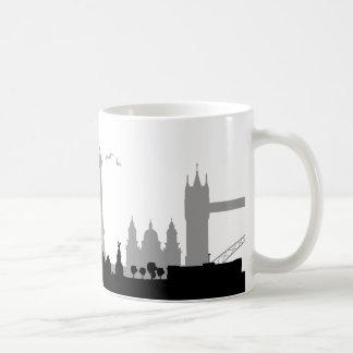Skyline London Basic White Mug