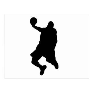 Slam Dunk Player Silhouette Postcard