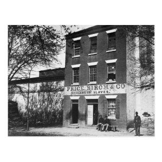 Slave Dealers, 1860s Postcard