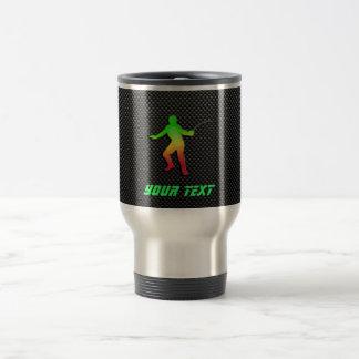 Sleek Fencing Stainless Steel Travel Mug
