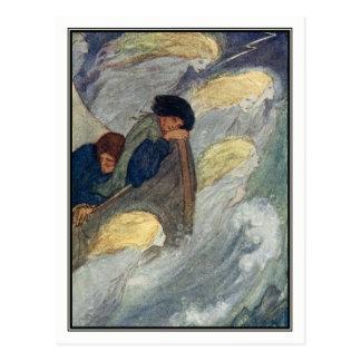 Sleep at Sea by Florence Harrison Postcard