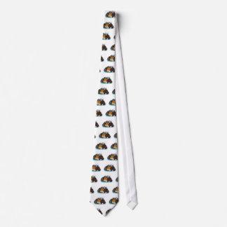 Sleeping Kitty Pile Tie