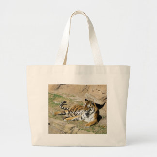 Sleeping Tiger Jumbo Tote Bag