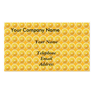 Slices of Oranges - Juice Theme Pack Of Standard Business Cards