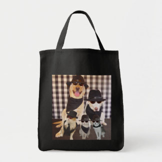 Sly and the Family Grocery Tote Bag