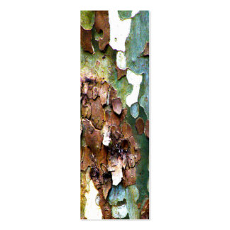 Sm. Tree Bark Texture Bookmarks Pack Of Skinny Business Cards
