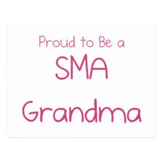 SMA Grandparents Postcard