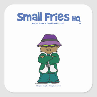 Small Fries HQ Lavelle Sticker sq