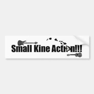 """""""Small Kine Action"""" Bumper Sticker"""