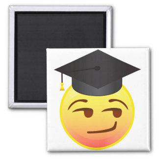 Smart Smug Graduation Class of Emoji Gift Magnet