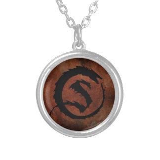 SMAUG™ Logo Round Pendant Necklace