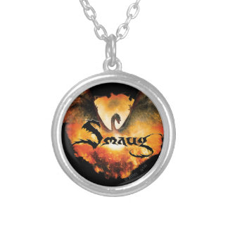 SMAUG™ Over Laketown Round Pendant Necklace