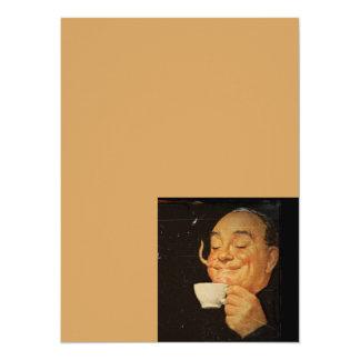 Smelling the Coffee 14 Cm X 19 Cm Invitation Card