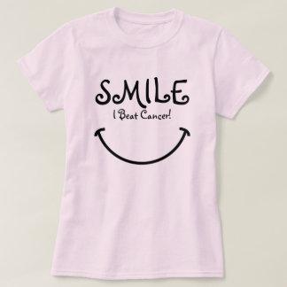 Smile, I Beat Cancer Shirts