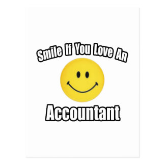 Smile If You Love an Accountant Postcard