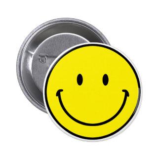 Smileyface 6 Cm Round Badge