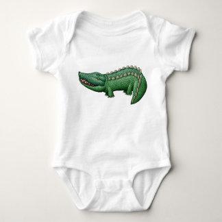 Smiling Crocodile Kid's Top T Shirts