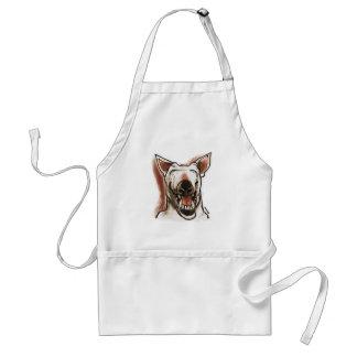 smiling dog standard apron