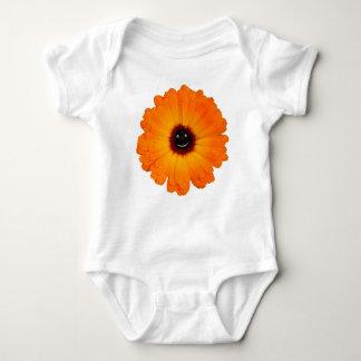 Smiling Orange Flower Tee Shirts