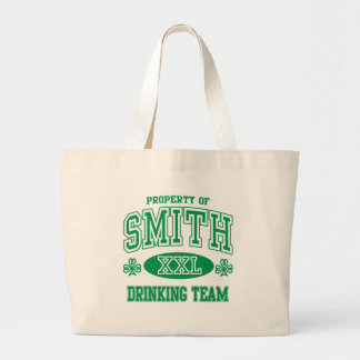Smith Irish Drinking Team Jumbo Tote Bag