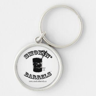 Smokin' Barrels Keychain
