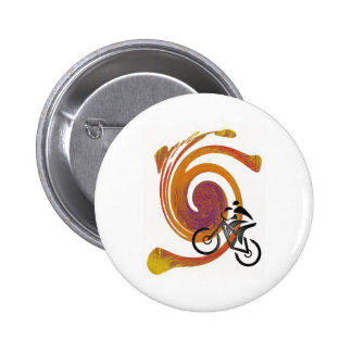 SMOOTH TRAIL RIDE 6 CM ROUND BADGE