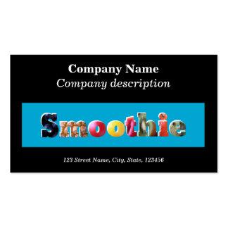 Smoothie Cafe / Juice bar business card