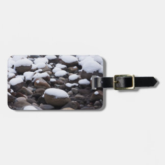 Snow And Rocks, Mt. Rainier National Park Tags For Luggage