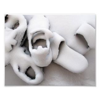 Snow, Boston, MA, 9.3x7.3, photo print