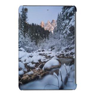 Snow-covered Geisler Mountain Range iPad Mini Cover