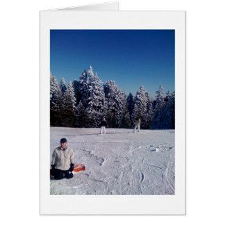 Snow Days Greeting Card