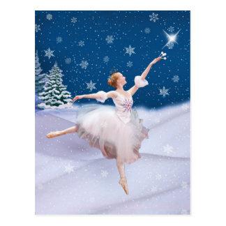 Snow Queen Ballerina  Postcard