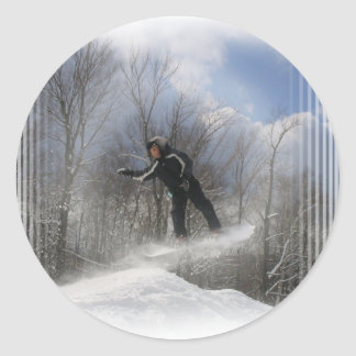Snowboarding 360 Stickers