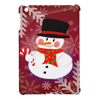 Snowman & Candycane iPad Mini Case