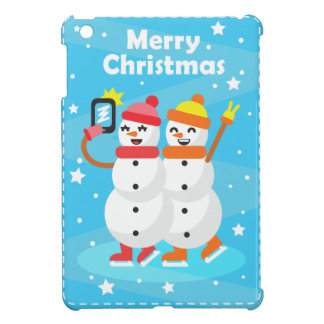 snowman/snowman cover for the iPad mini