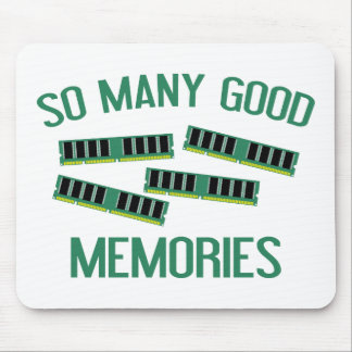 So Many Good Memories Mouse Pad