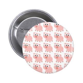 So Many Pigs 6 Cm Round Badge