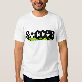 Soccer Ball and Grass T-shirts