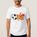 Soccer Ball of Fire Tshirt