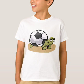 Soccer Ball Turtle T-shirts