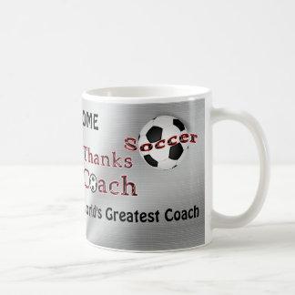 Soccer Coach Gifts Thank You MUG