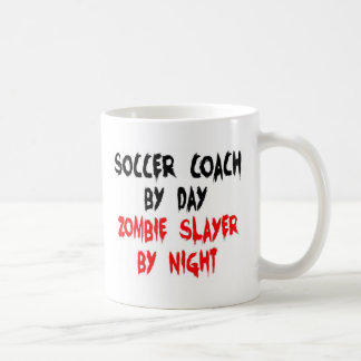 Soccer Coach Zombie Slayer Basic White Mug