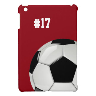 Soccer Red iPad Mini Case