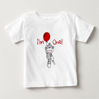 Sock Monkey First Birthday Tshirts and Gifts