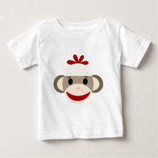 sock monkey infant T-Shirt