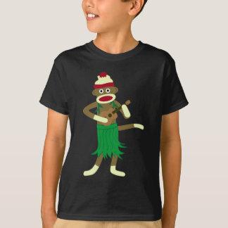 Sock Monkey Ukulele Shirt