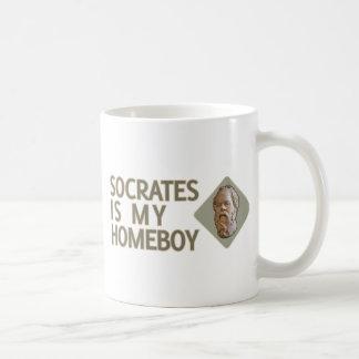 Socrates is my Homeboy Basic White Mug
